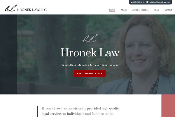 Hronek Law